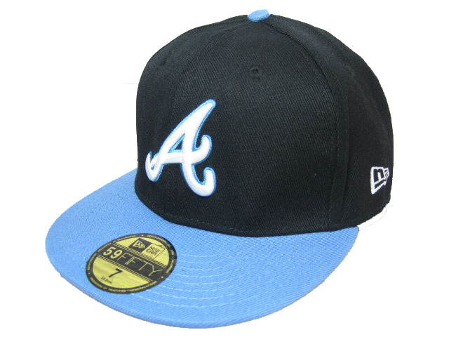 Atlanta Braves MLB Fitted Hat LX09